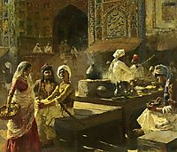 An Open Air Kitchen, Lahore, India, weeks
