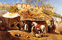 Blacksmith Shop at Tangiers, 1876, weeks