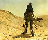 The Camel Rider, 1875, weeks