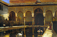 A Court in the Alhambra, 1876, weeks