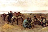 Early Morning by Lake Urumiyah, Persia, 1892, weeks
