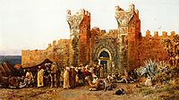 Gate of Shehal, Morocco, 1880, weeks