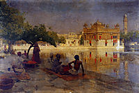 The Golden Temple, Amritsar, 1890, weeks