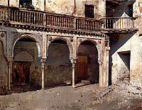 Granada Courtyard, weeks