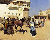 Horse Market, Persian Stables, Bombay, weeks