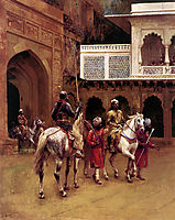 Indian Prince, Palace Of Agra, weeks