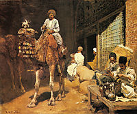 A Marketplace in Ispahan, 1885, weeks