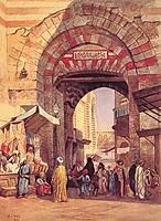 The Moorish Bazaar, 1873, weeks