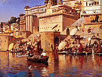 On The River Benares, c.1883, weeks