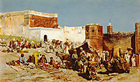 Open Market, Morocco, 1880, weeks
