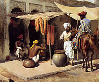 Outside An Indian Dye House, c.1885, weeks