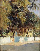 Street Scene, Bombay, c.1885, weeks