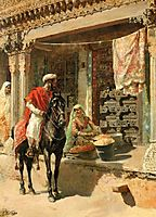 Street Vendor, Ahmedabad, c.1885, weeks