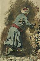 Study of a Moor in Blue, c.1878, weeks