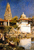 The Temple and Tank of Walkeschwar at Bombay, weeks