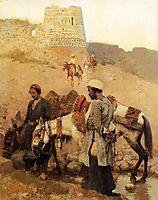 Traveling in Persia, c.1895, weeks