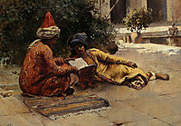 Two Arabs Reading, weeks