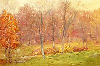 Autumn Rain, 1890, weir