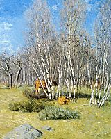 The Birches, 1903, weir