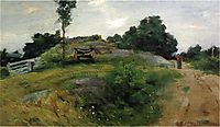 Connecticut Scene, 1888, weir