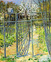 The Grey Trellis, 1891, weir