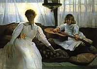 Idle Hours, 1888, weir