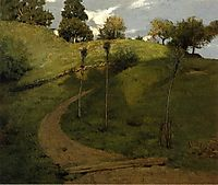 Lengthening Shadows, 1887, weir