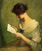 The Letter, c.1910, weir