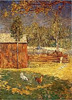 Midday, 1891, weir