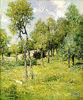 Midsummer Landscape, 1914, weir