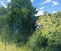 Ravine near Branchville, 1915, weir