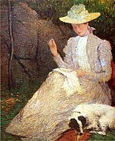 Summer, 1898, weir