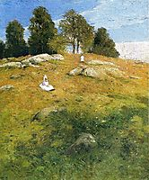 Summer Afternoon, Shinnecock Landscape, 1902, weir