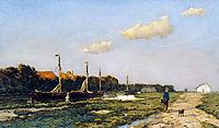 Along the canal, weissenbruch