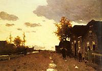 Along the Canal, 1893, weissenbruch