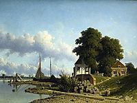 At Elshout Sun, 1854, weissenbruch