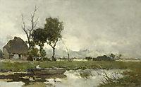 Autumn Landscape, c.1870, weissenbruch