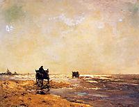 Beach view, 1891, weissenbruch