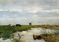 Dutch polder landscape, weissenbruch