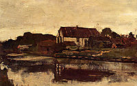 A Farm On The Waterfront, weissenbruch