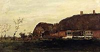 A Farmhouse In A Polder, weissenbruch