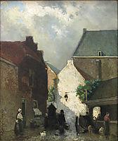 Fish market Sun, 1873, weissenbruch