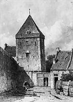 The Goilberdingenpoort in Culemborg Su, weissenbruch