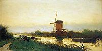 Landscape at Noorden, weissenbruch