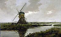 Landscape with a mill, weissenbruch