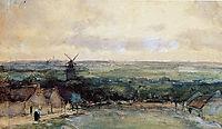 Landscape with mills, weissenbruch