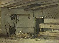 Stalinterieur, 1895, weissenbruch