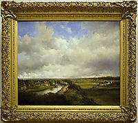 View from Dekkersduin, 1849, weissenbruch