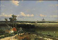View of Haarlem, 1848, weissenbruch