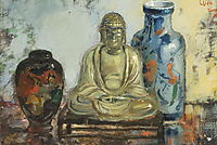Buddha with two vases, wenning